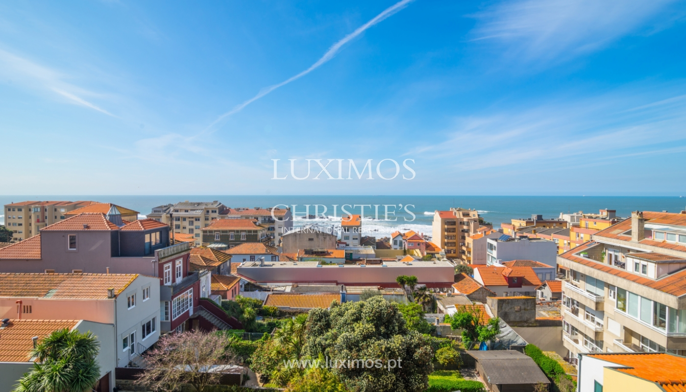 Sale of duplex apartment with balcony and sea views, in Porto, Portugal_136819