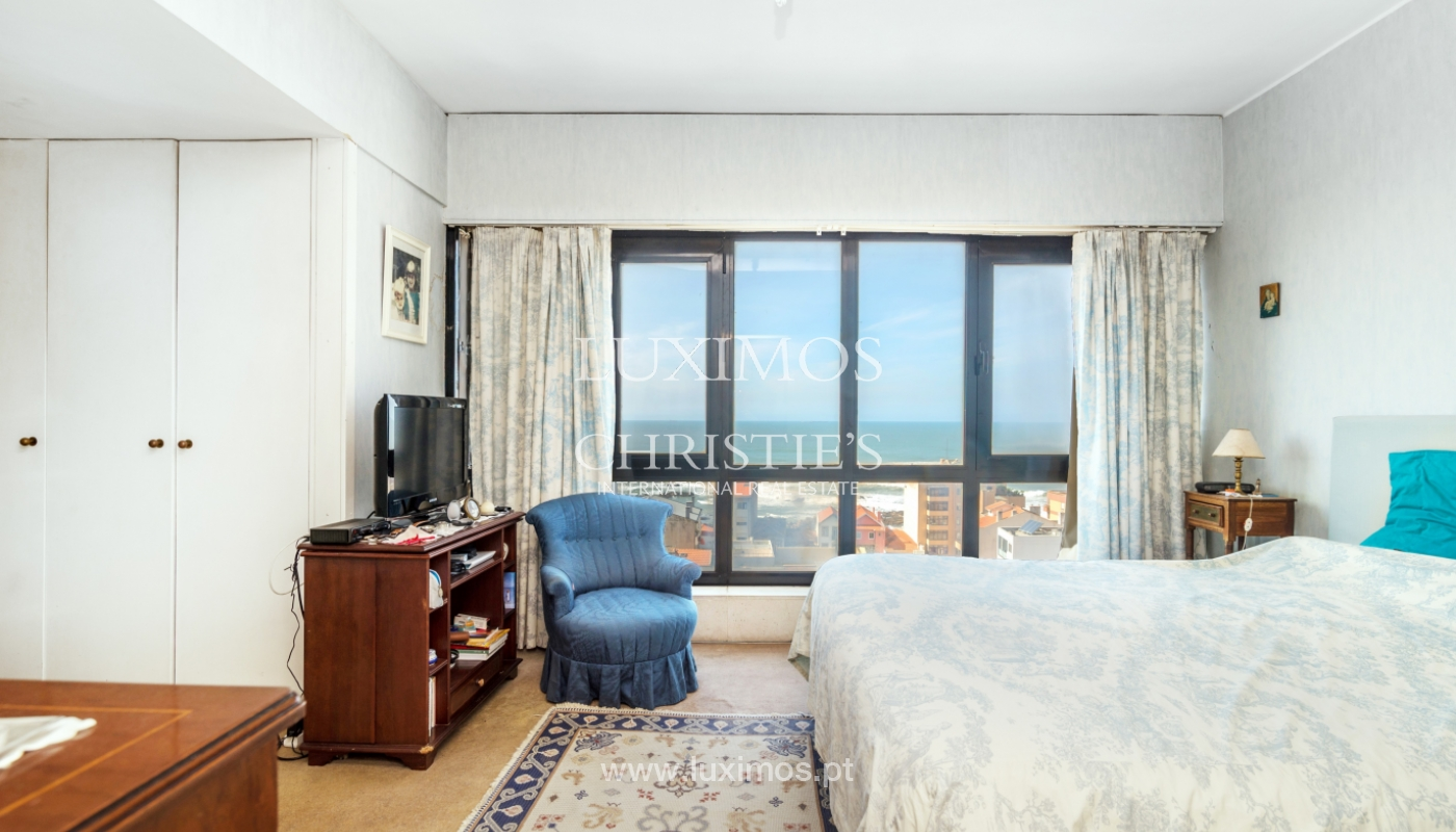 Sale of duplex apartment with balcony and sea views, in Porto, Portugal_136822