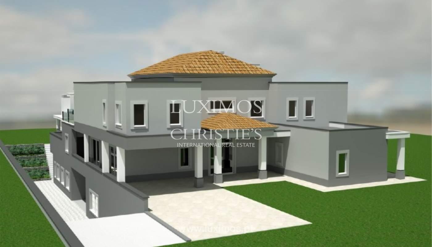 Sale of luxury villa, front golf, Vila Sol, Algarve, Portugal_137025