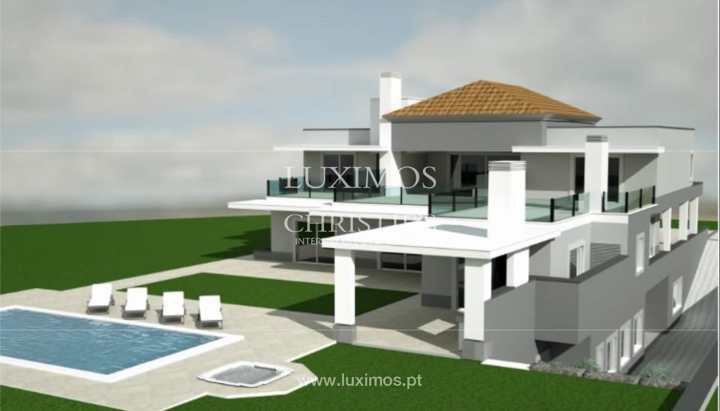 Sale of luxury villa, front golf, Vila Sol, Algarve, Portugal_137026