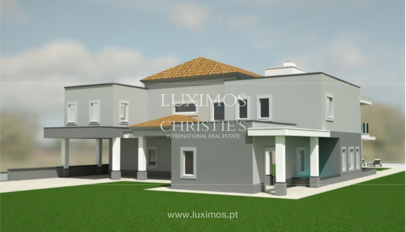 Sale of luxury villa, front golf, Vila Sol, Algarve, Portugal_137027