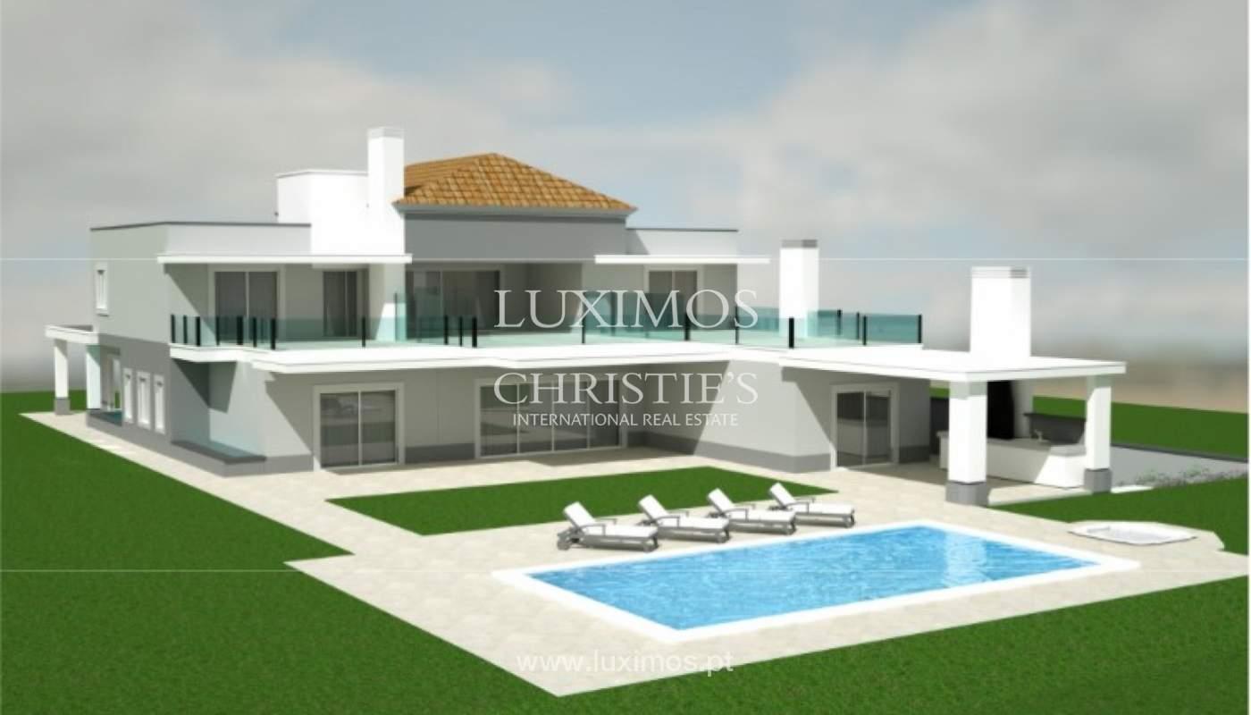 Sale of luxury villa, front golf, Vila Sol, Algarve, Portugal_137028