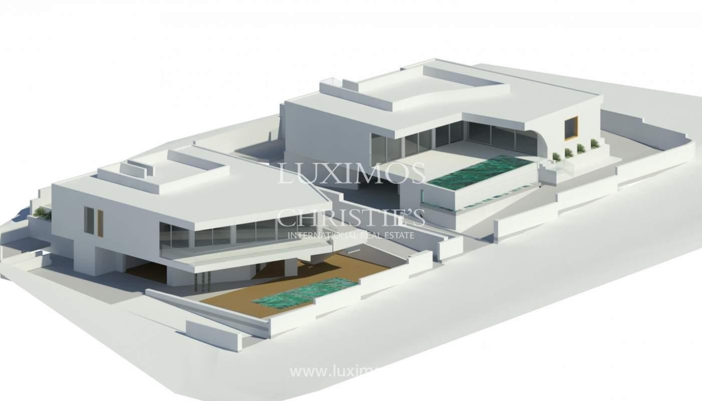 La vente de la maison, moderne, nouvelle, avec vue sur la mer à Lagos, Algarve_137062