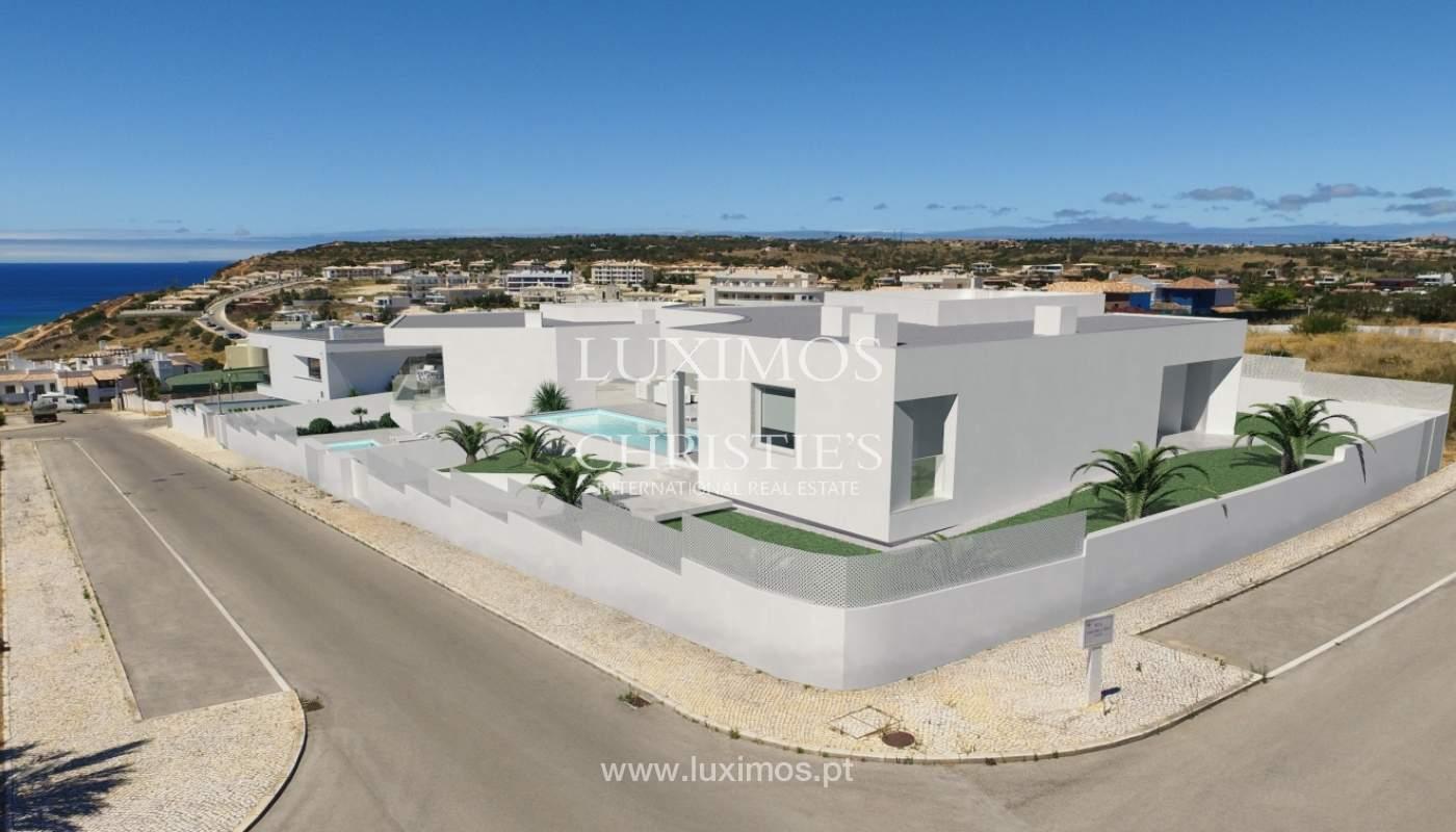 La vente de la maison, moderne, nouvelle, avec vue sur la mer à Lagos, Algarve_137063
