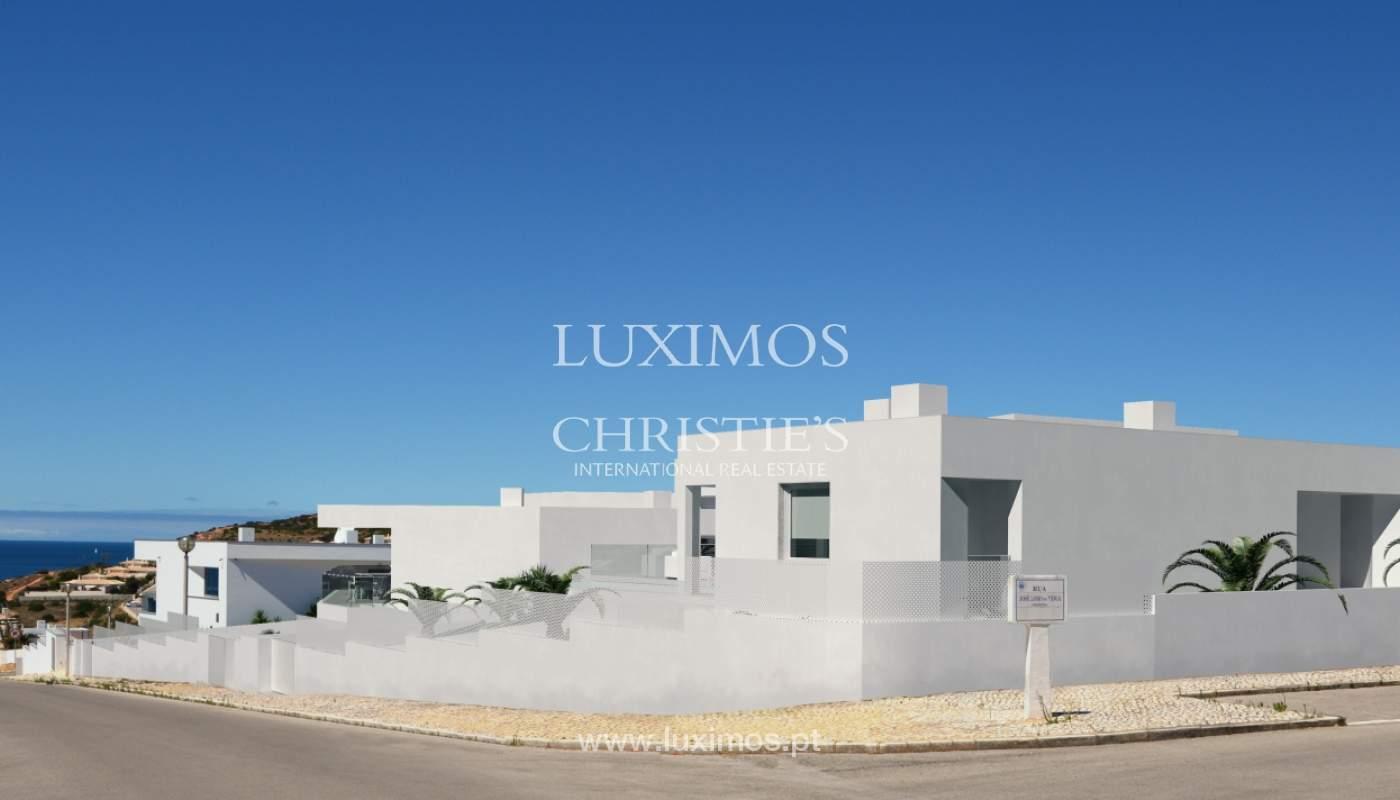 La vente de la maison, moderne, nouvelle, avec vue sur la mer à Lagos, Algarve_137066