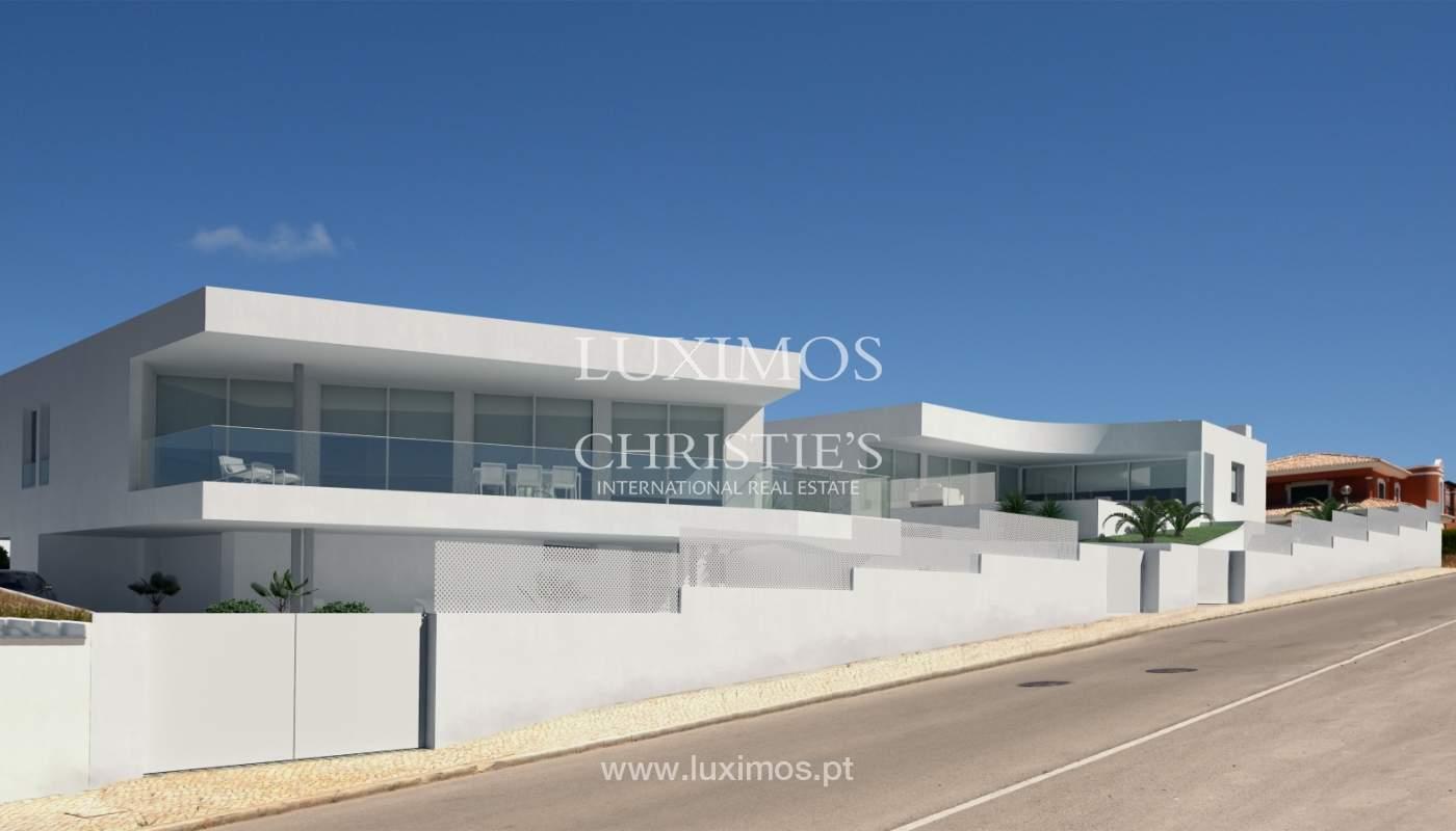 La vente de la maison, moderne, nouvelle, avec vue sur la mer à Lagos, Algarve_137067