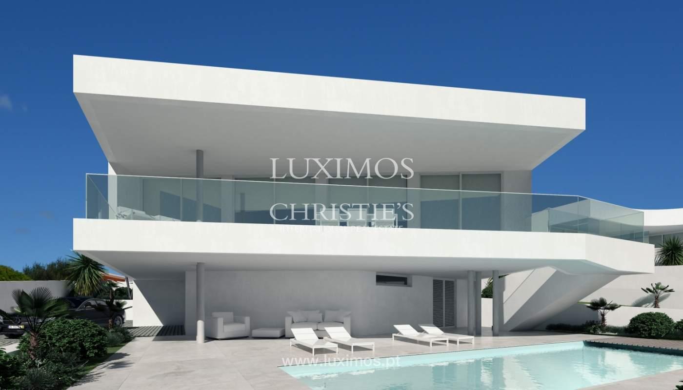 La vente de la maison, moderne, nouvelle, avec vue sur la mer à Lagos, Algarve_137068