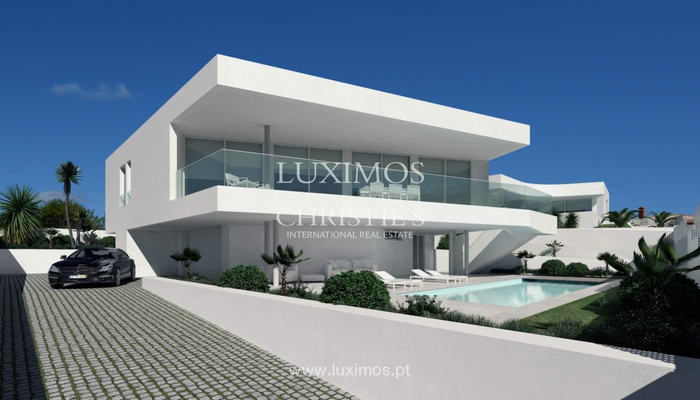 La vente de la maison, moderne, nouvelle, avec vue sur la mer à Lagos, Algarve_137070