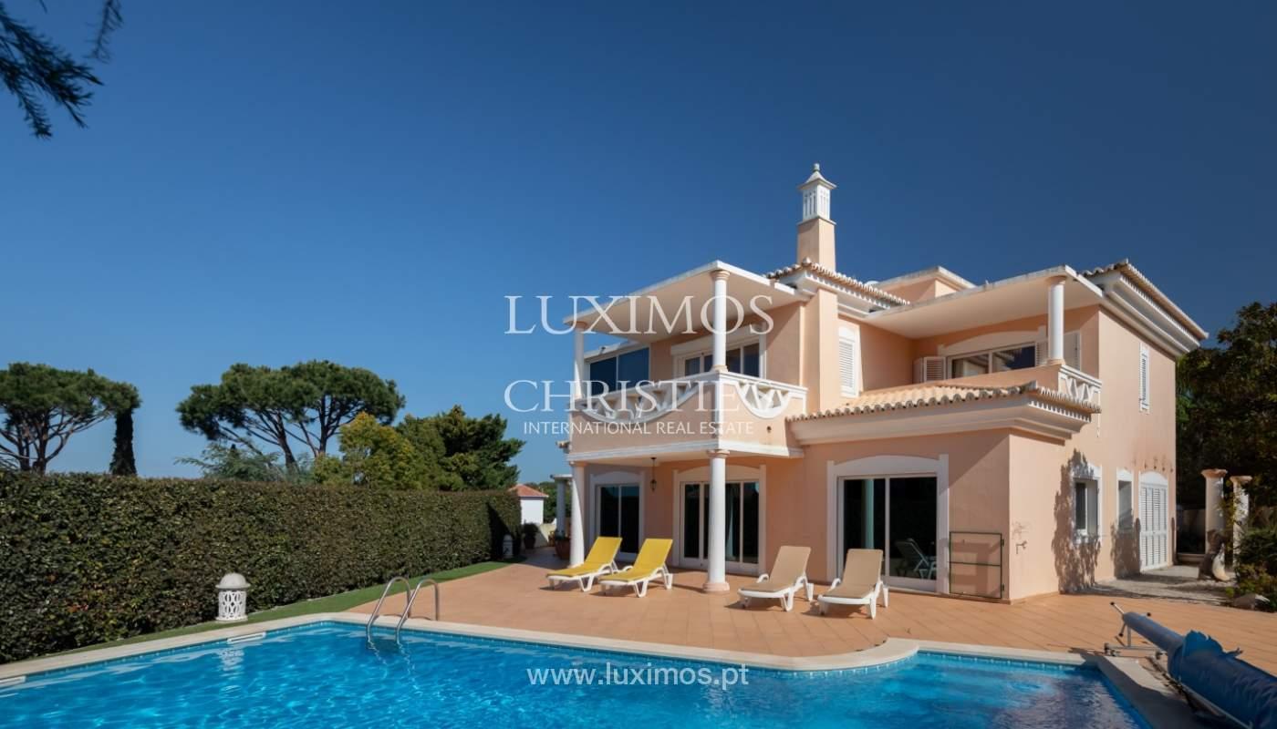 Sale of villa near the sea in Vale do Lobo, Algarve, Portugal_137077