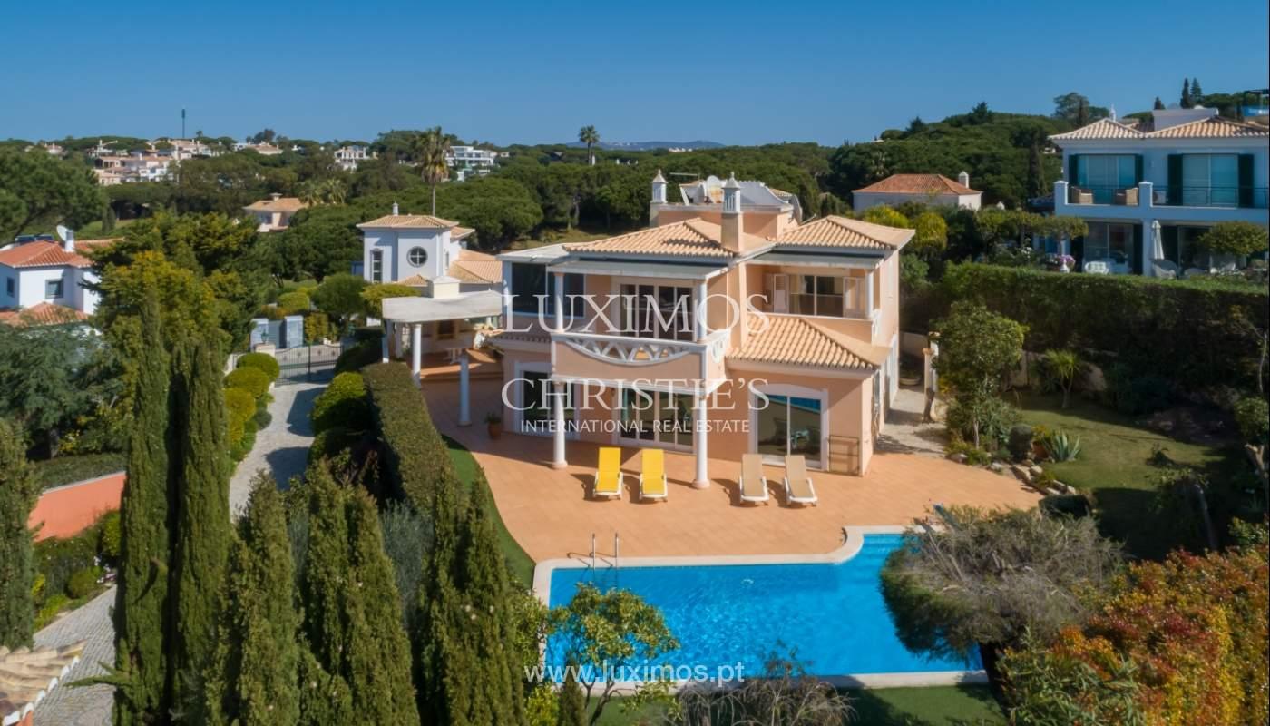 Sale of villa near the sea in Vale do Lobo, Algarve, Portugal_137078