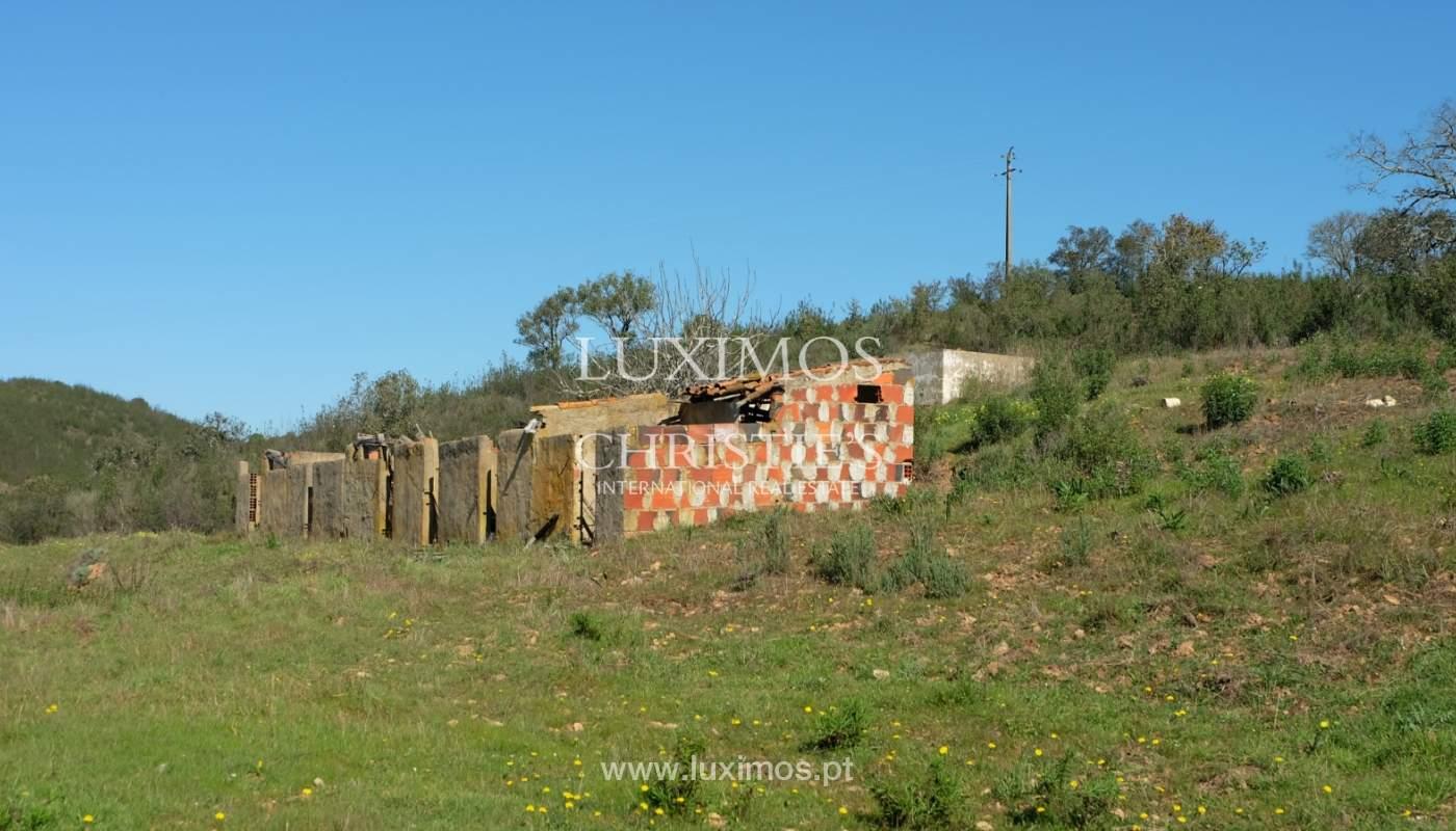 Venda de terreno com casa antiga em São Marcos da Serra, Algarve_137120
