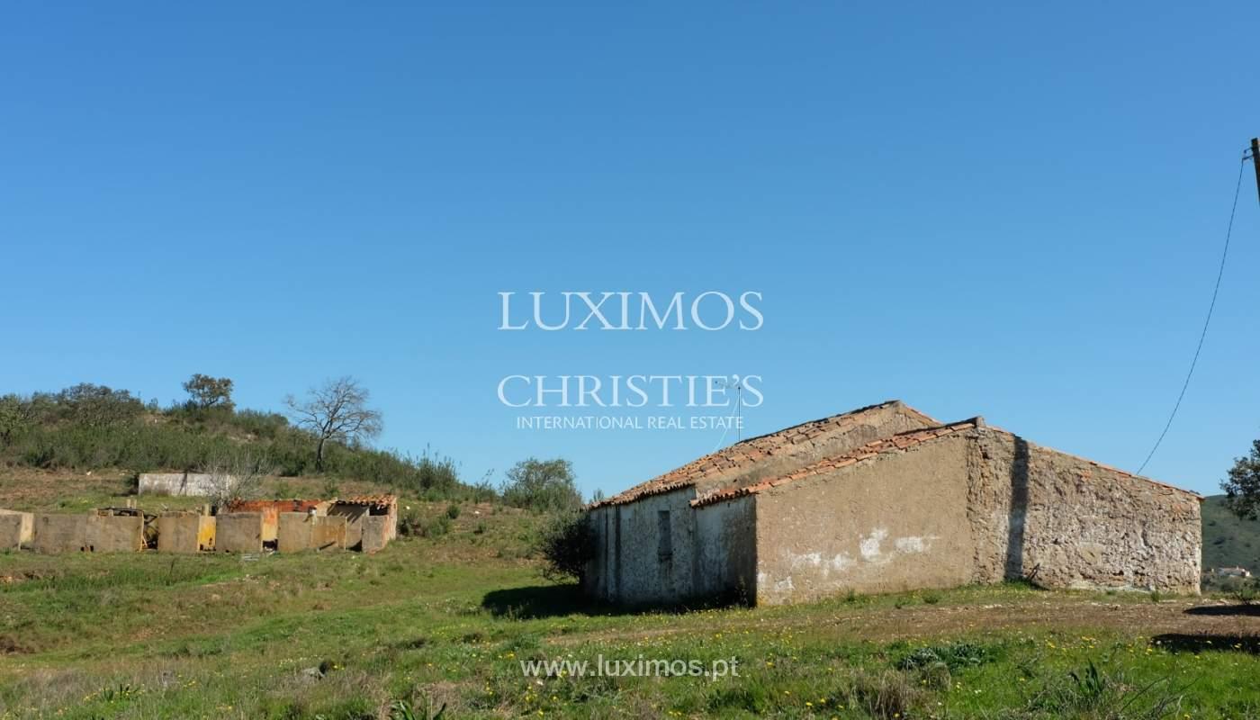 Venda de terreno com casa antiga em São Marcos da Serra, Algarve_137167