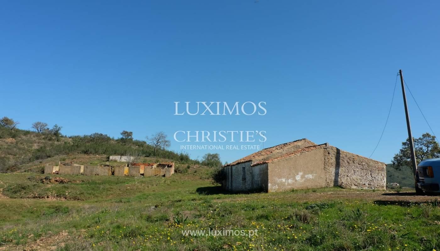 Venda de terreno com casa antiga em São Marcos da Serra, Algarve_137168
