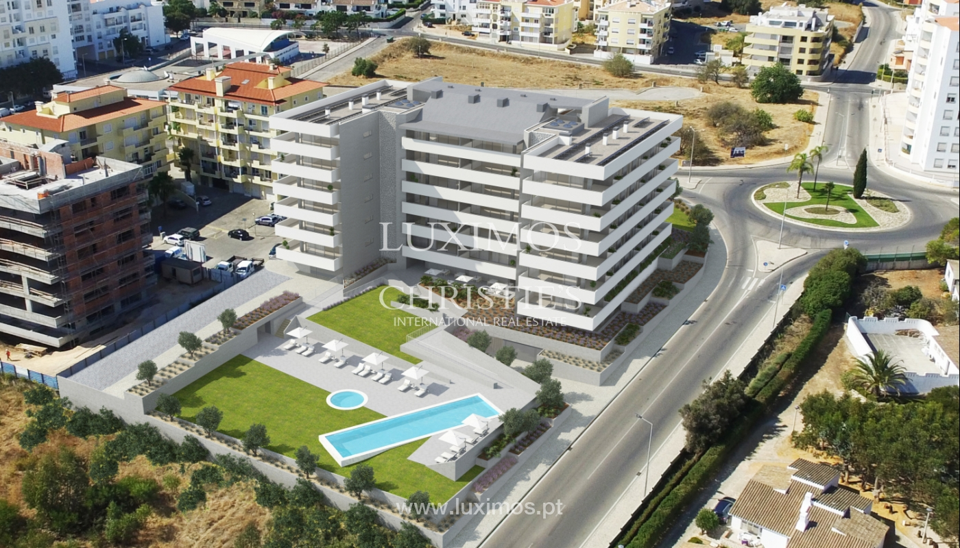 Appartement neuf avec terrasses, copropriété fermé,Lagos,Algarve,Portugal_137670