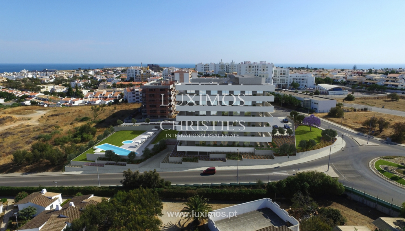 Nuevo apartamento con terraza, condominio cerrado,Lagos,Algarve,Portugal_137714