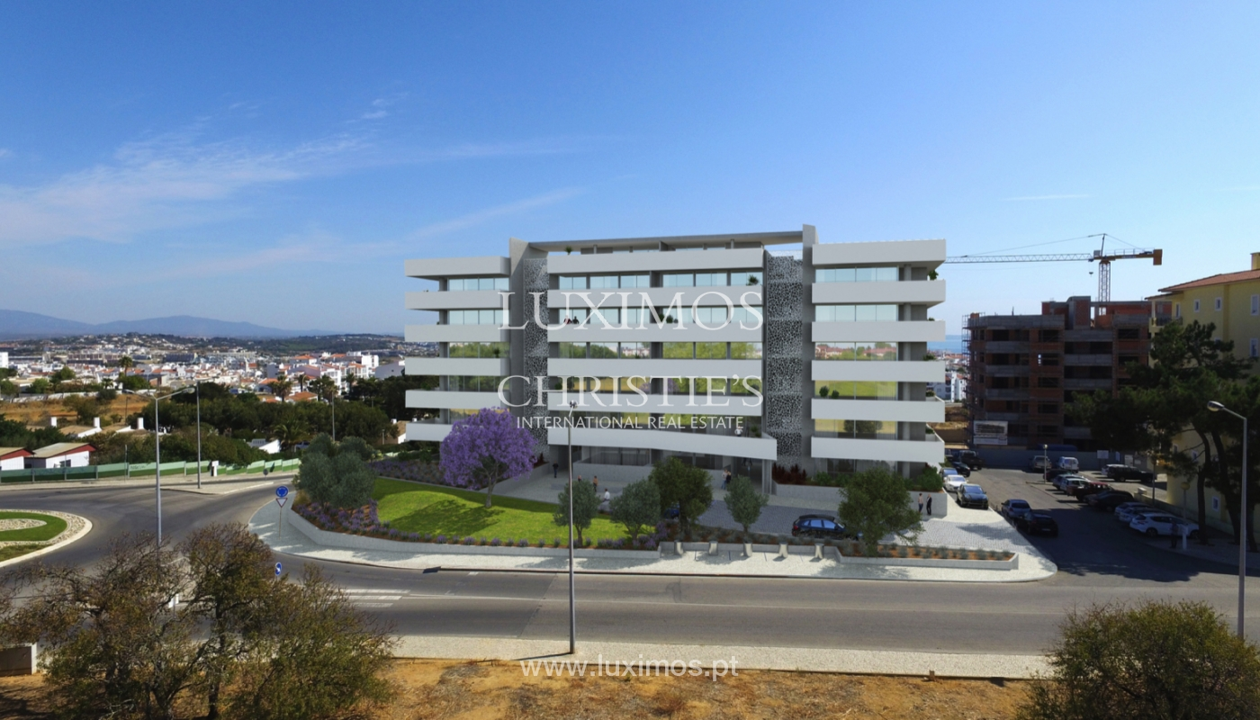 Appartement neuf avec terrasse, condominium fermé,Lagos,Algarve,Portugal_137716