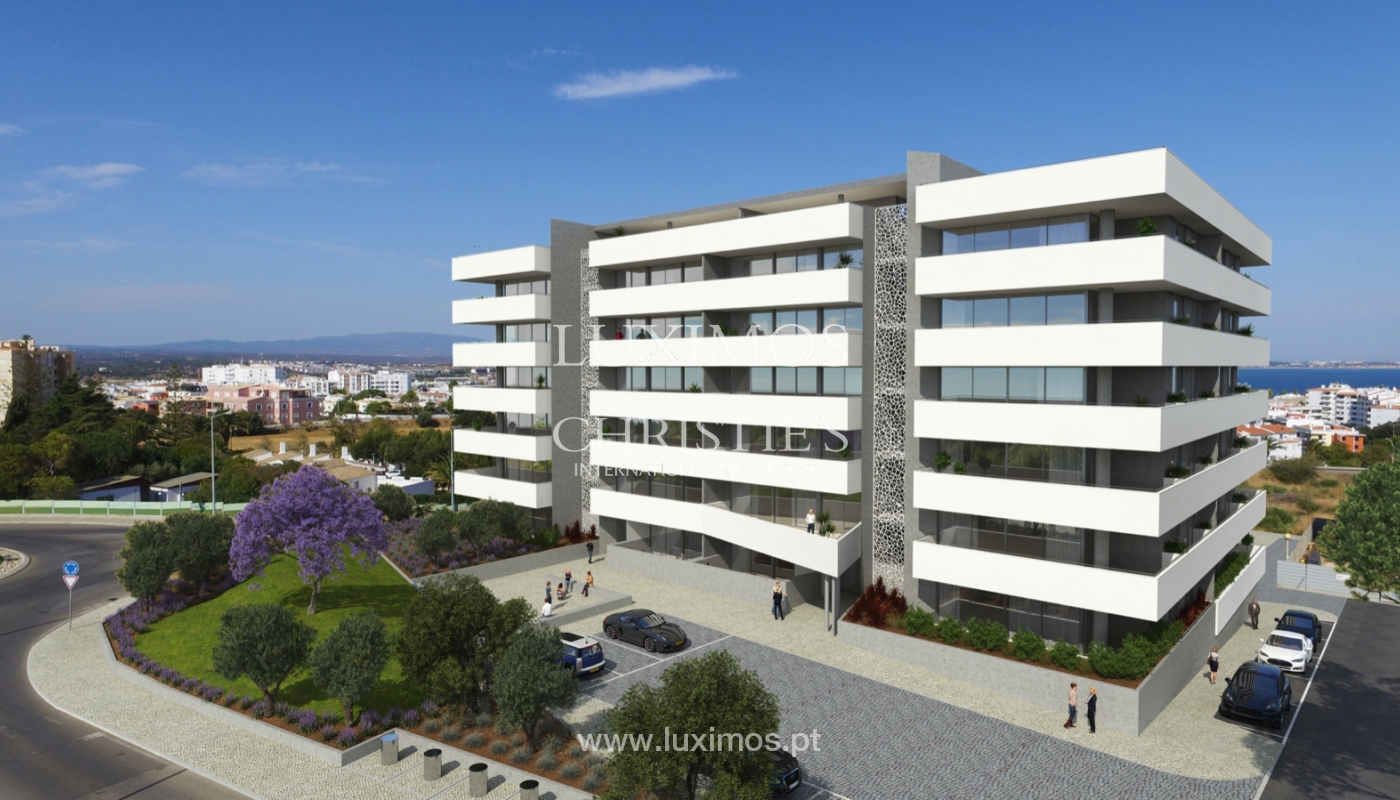 Sale:New apartment w/ terraces,closed condominium,Lagos,Algarve,Portugal_137768