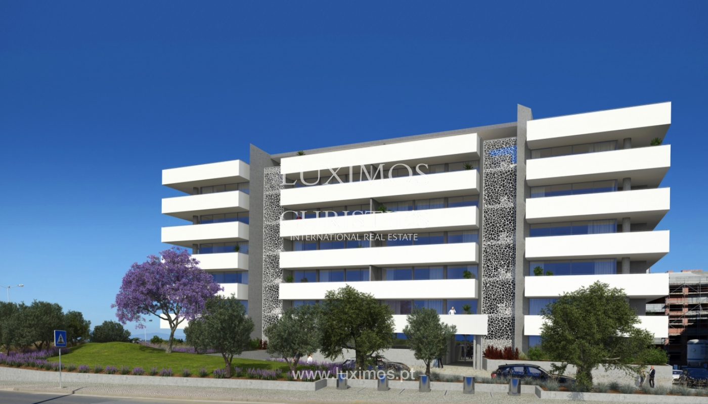 Nuevo apartamento c/ vistas mar, condominio cerrado,Lagos,Algarve,Portugal_137837