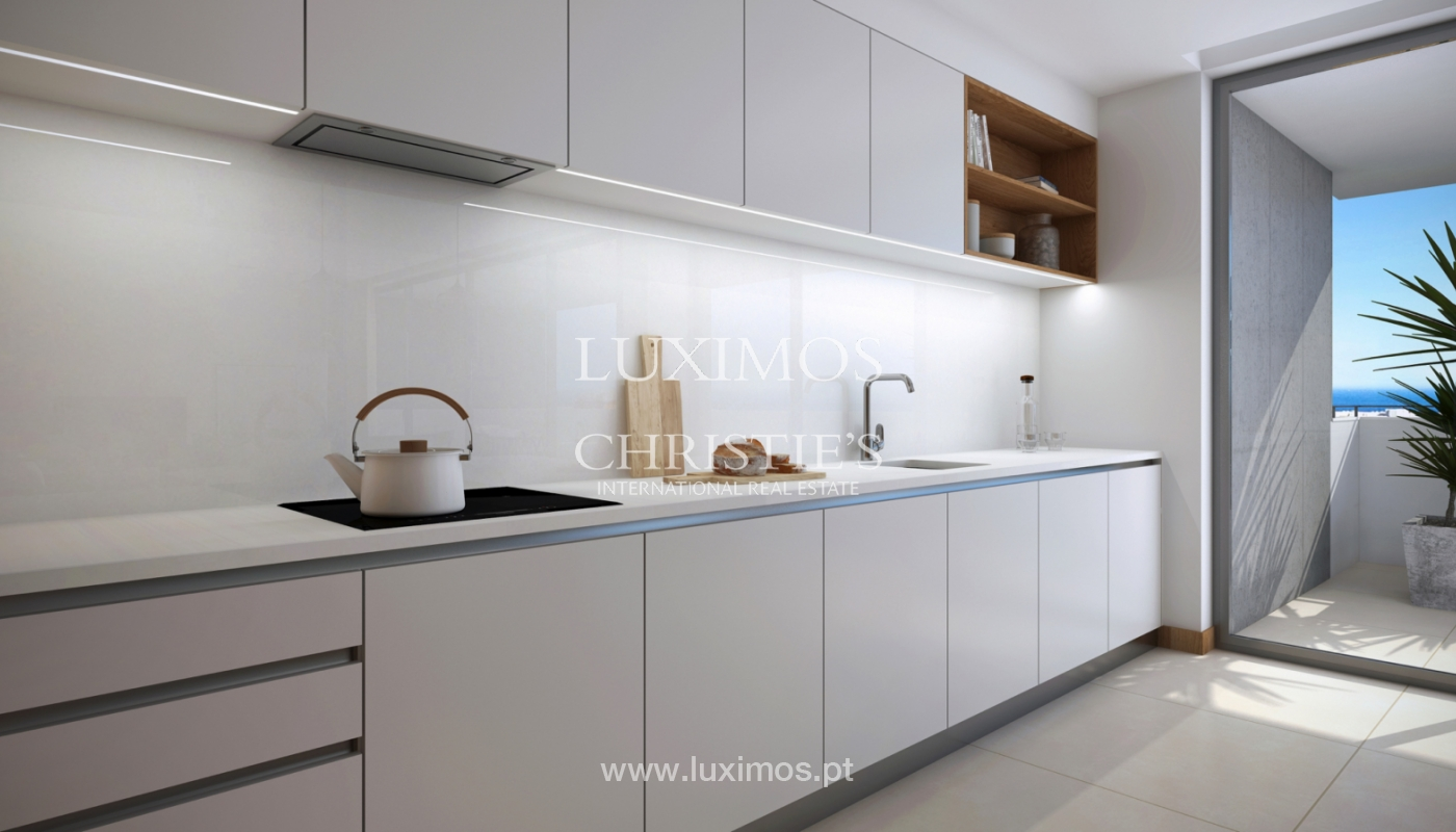 Nuevo apartamento c/ vistas mar, condominio cerrado,Lagos,Algarve,Portugal_137843