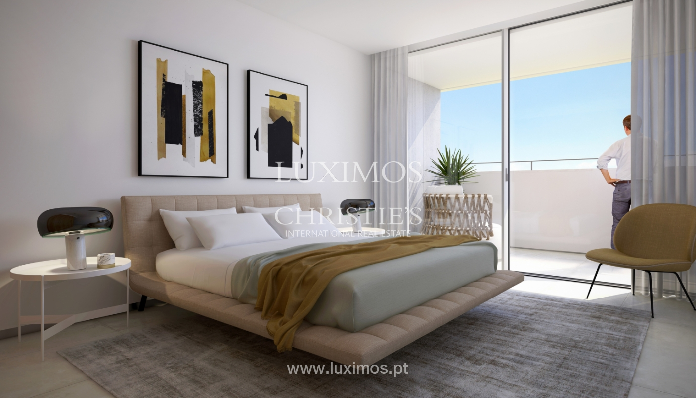 Nuevo apartamento c/ vistas mar, condominio cerrado,Lagos,Algarve,Portugal_137845