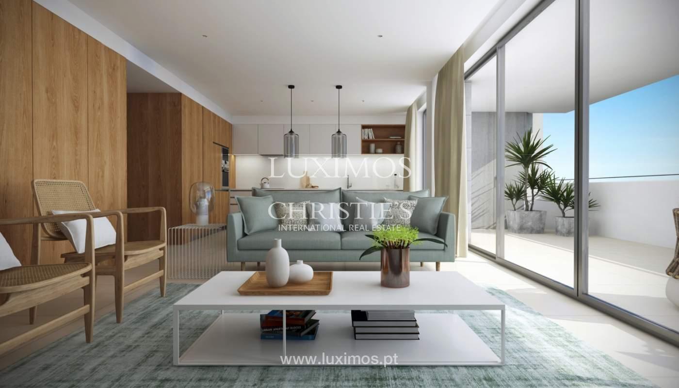Nuevo apartamento c/ vistas mar, condominio cerrado,Lagos,Algarve,Portugal_137980