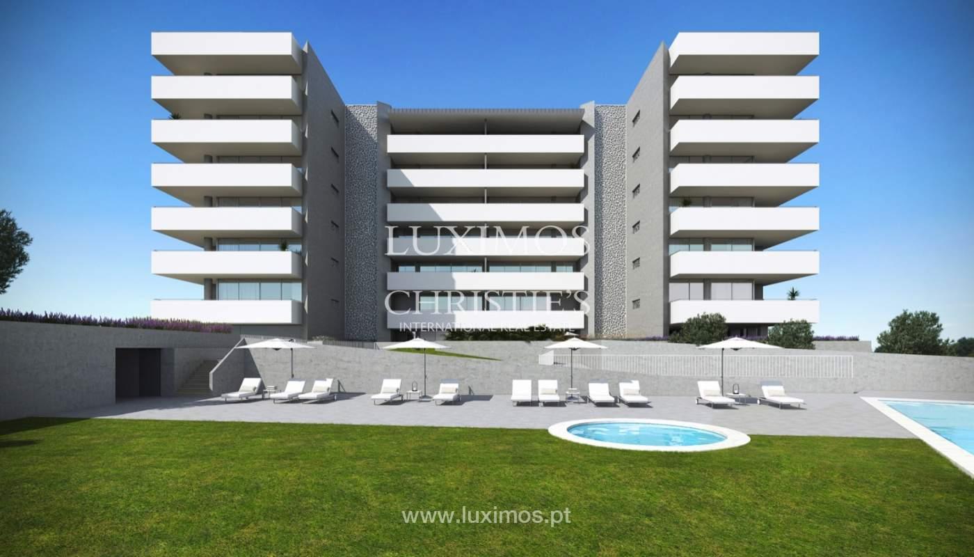 Nuevo ático con vistas al mar, condominio cerrado, Lagos, Algarve, Portugal_138018