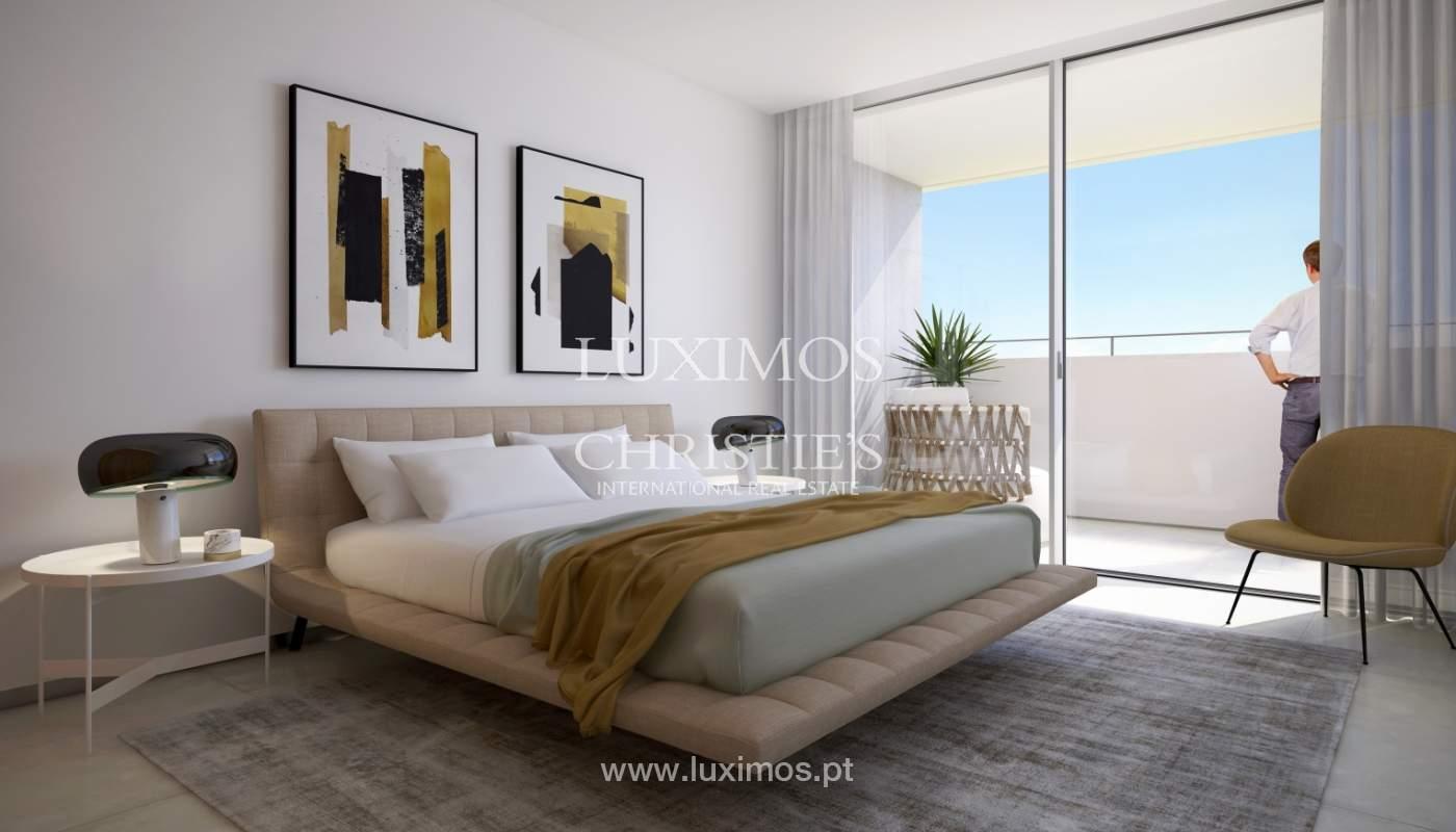 Nuevo ático con vistas al mar, condominio cerrado, Lagos, Algarve, Portugal_138025