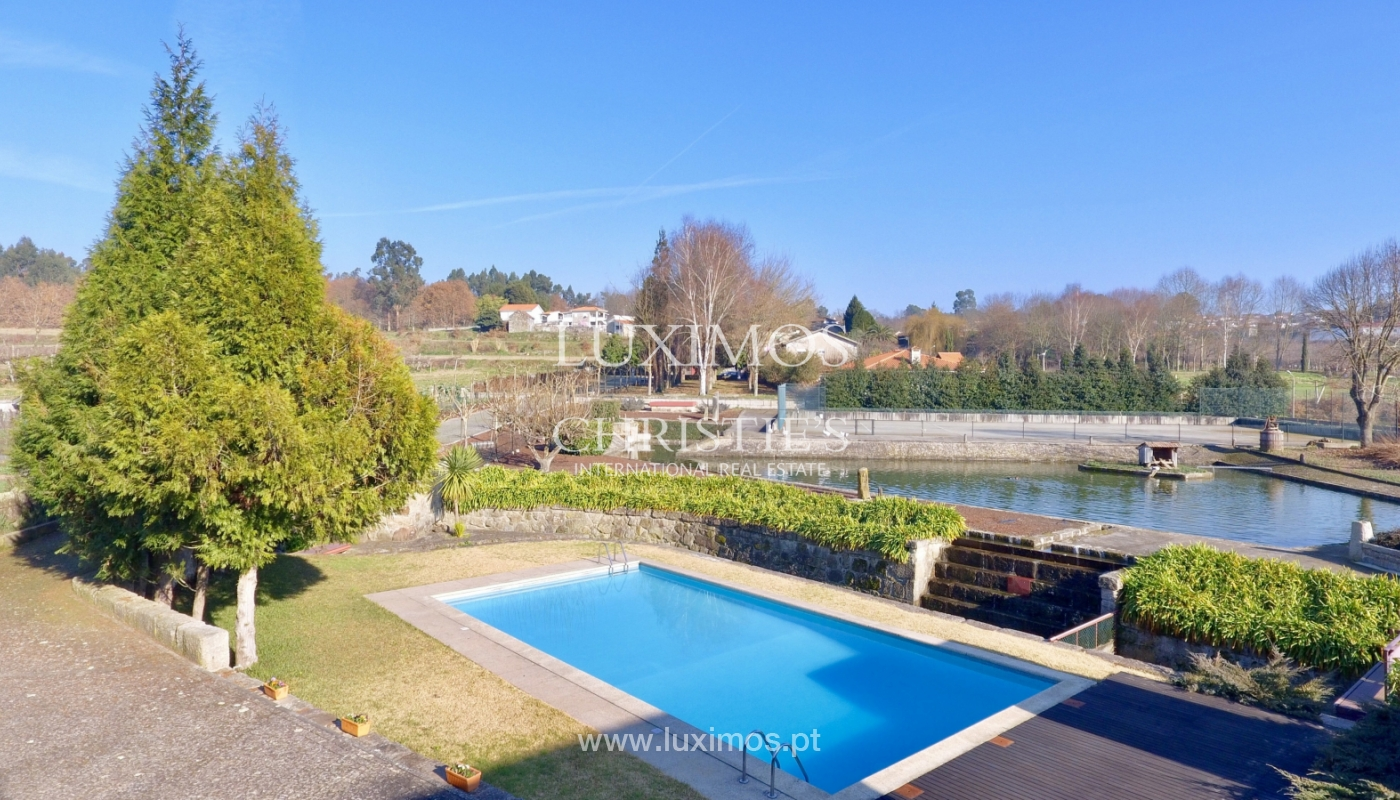 Sale of country house with garden, lake, pool, in Paredes, Portugal_138110