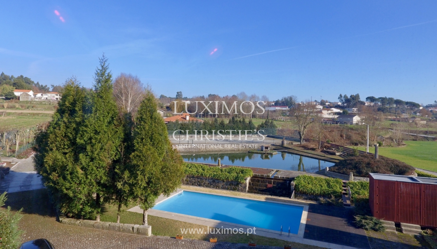Sale of country house with garden, lake, pool, in Paredes, Portugal_138139
