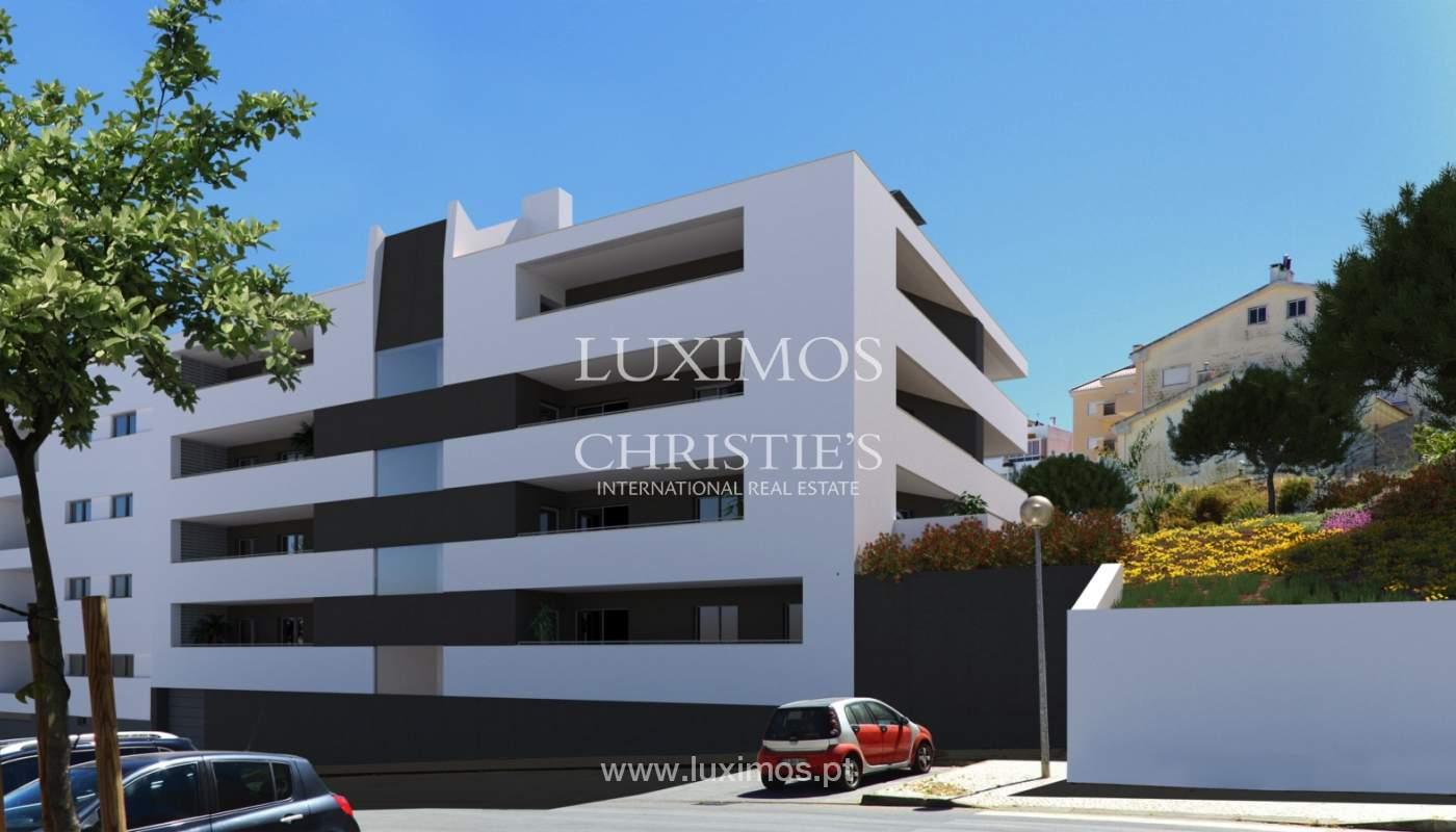 Appartement avec balcon, bâtiment avec piscine, Lagos, Algarve, Portugal_138257