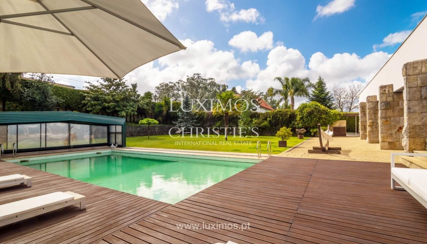Venda de moradia contemporânea de luxo com piscina e jardim, Trofa_138798