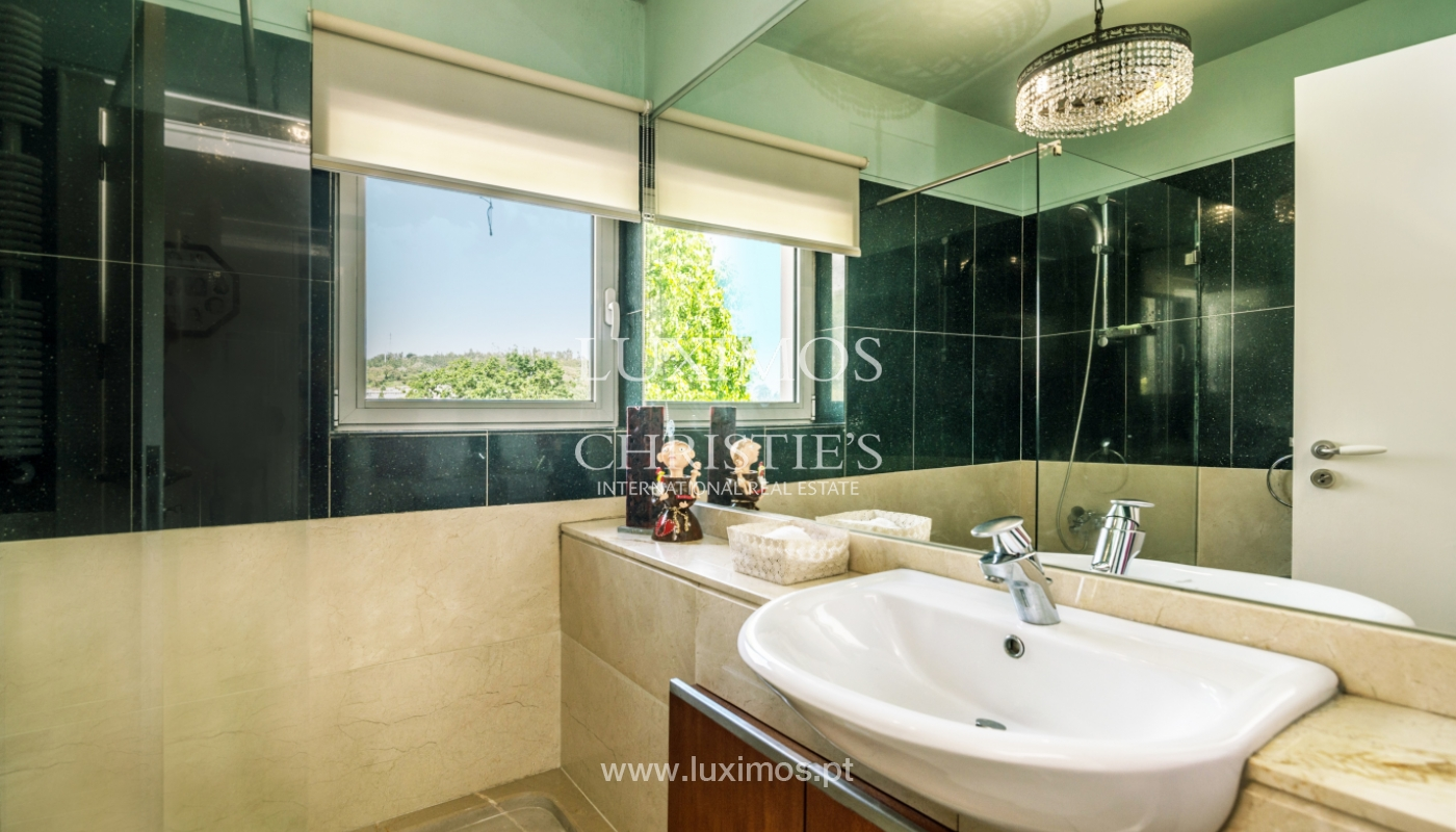 Sale of contemporary luxury villa with pool and garden, Trofa, Portugal_138808