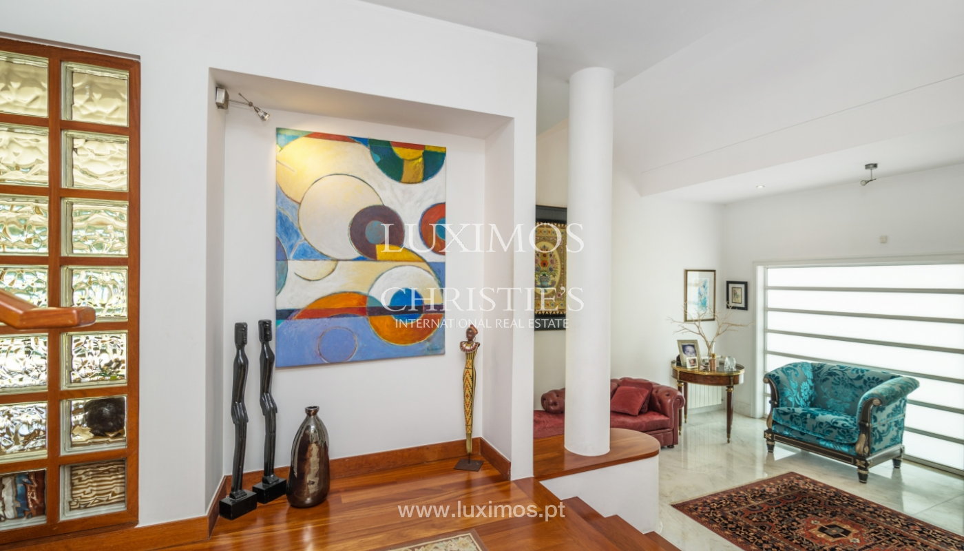 Sale of contemporary luxury villa with pool and garden, Trofa, Portugal_138812