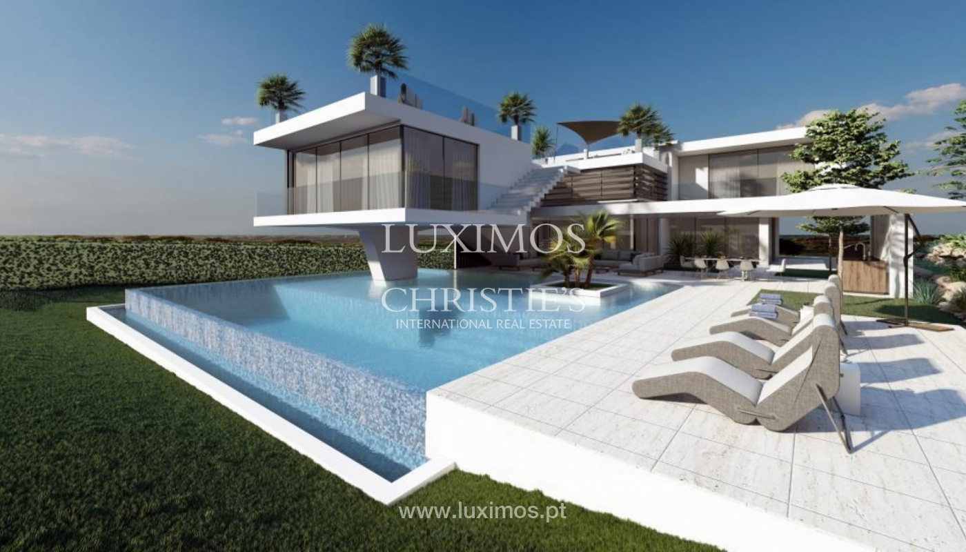 Villa moderne en front de golf à vendre à Vilmoura, Algarve, Portugal_139926