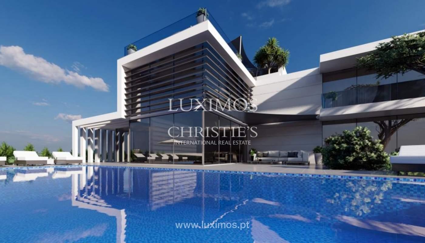 Sale of modern villa golf front, Vila Sol, Vilmoura, Algarve, Portugal_139935
