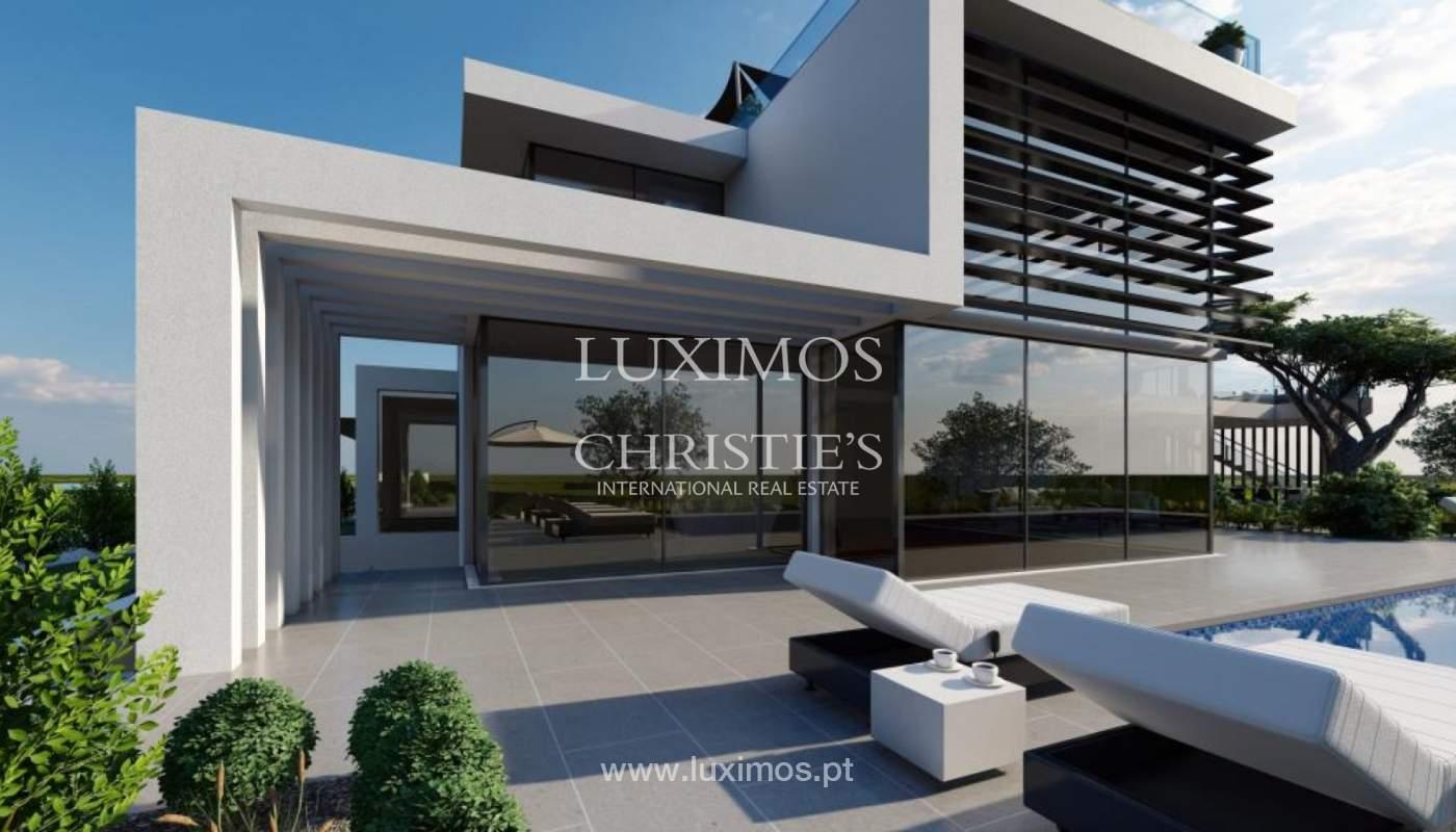 Sale of modern villa golf front, Vila Sol, Vilmoura, Algarve, Portugal_139937
