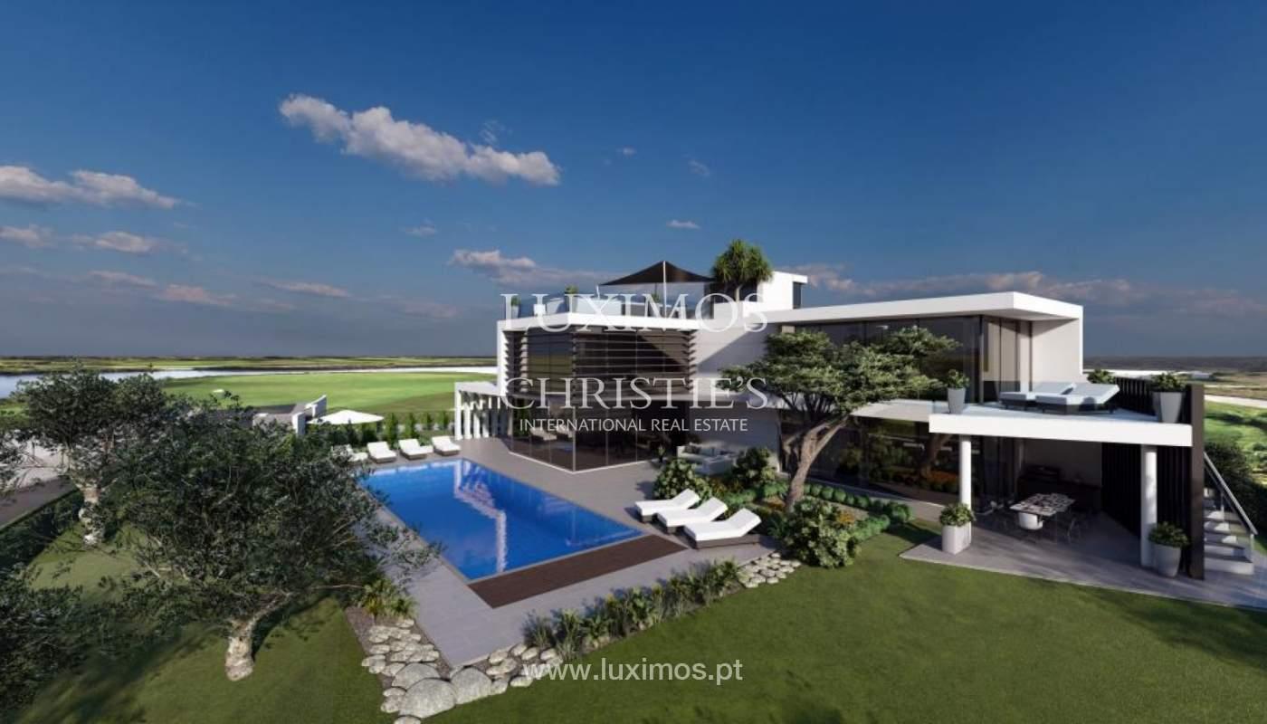 Venda de moradia moderna frente golfe em Vila Sol, Vilmoura, Algarve_139940