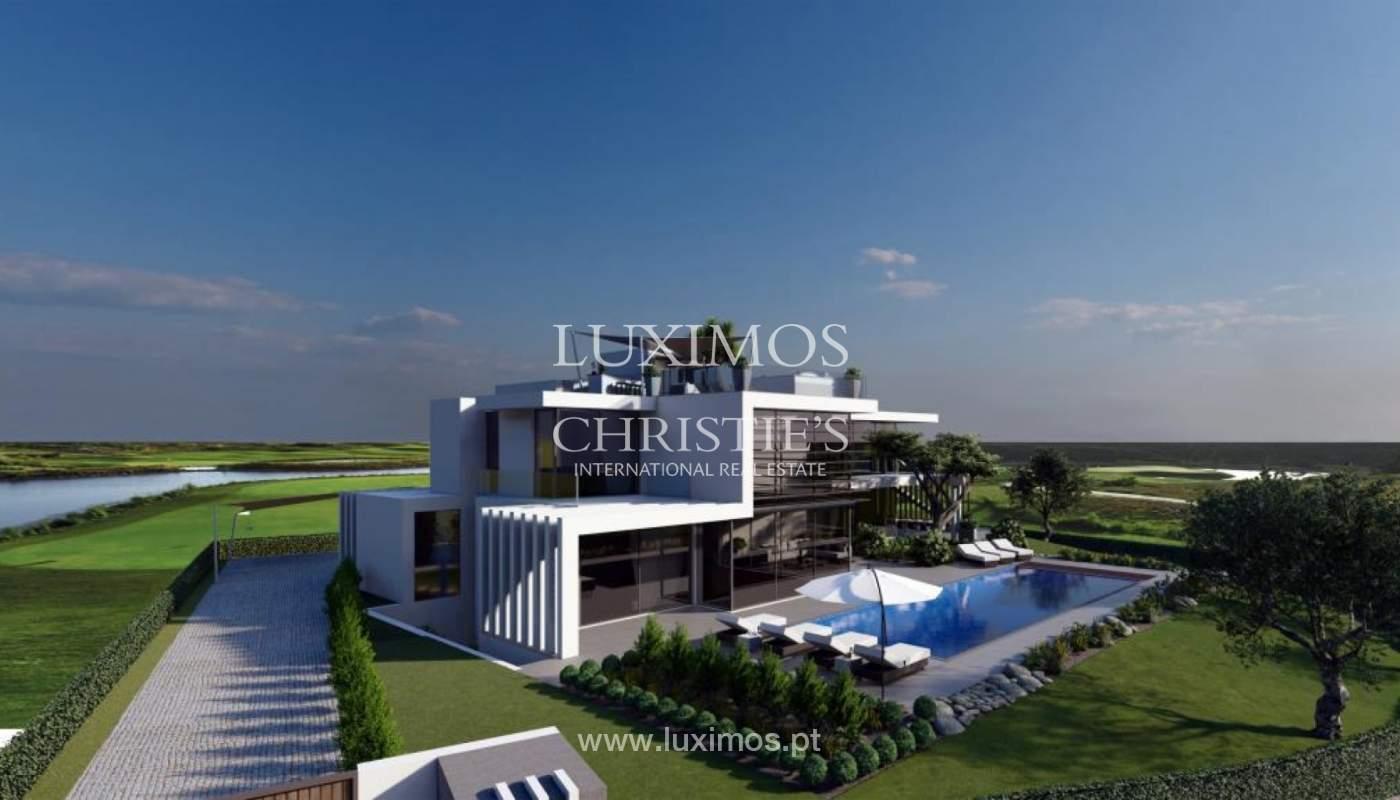Sale of modern villa golf front, Vila Sol, Vilmoura, Algarve, Portugal_139941