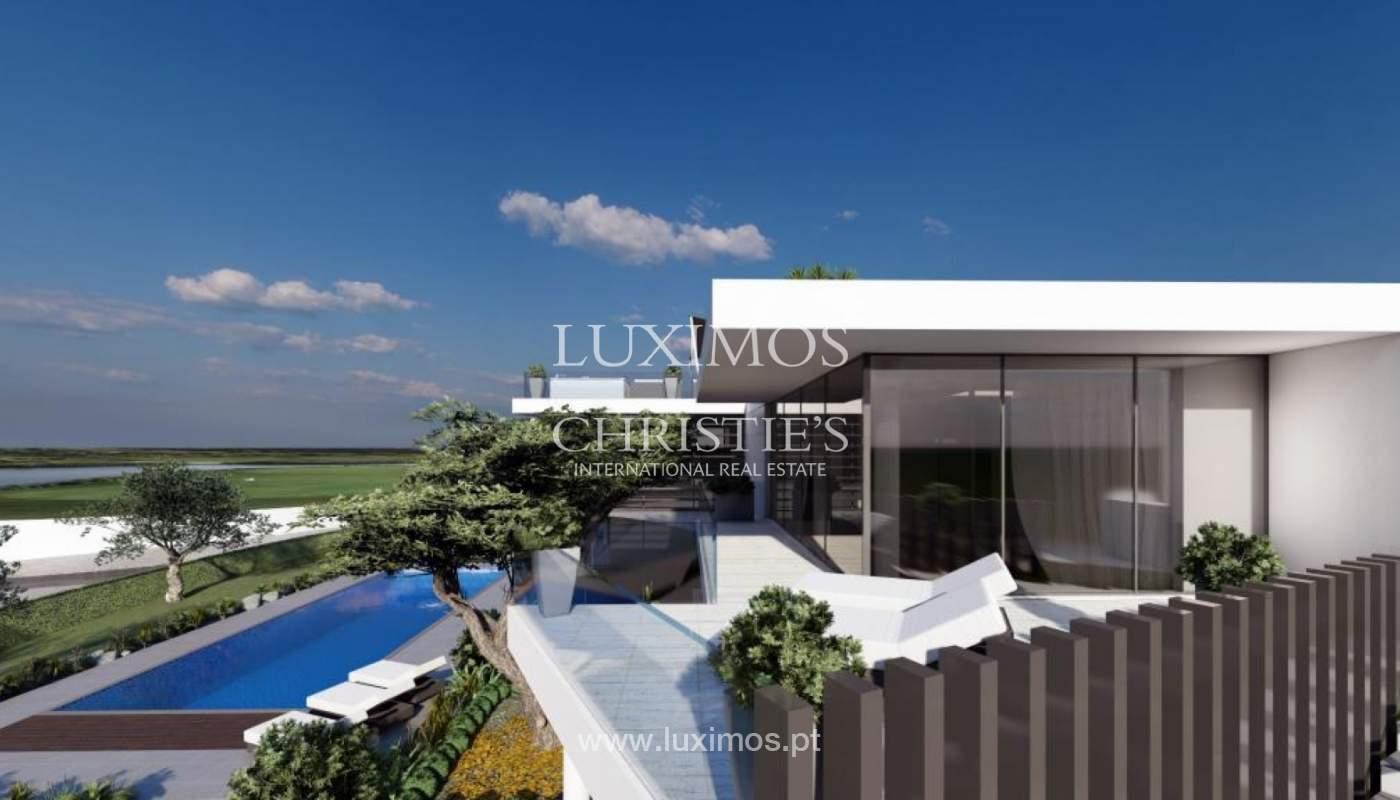 Venda de moradia moderna frente golfe em Vila Sol, Vilmoura, Algarve_139942