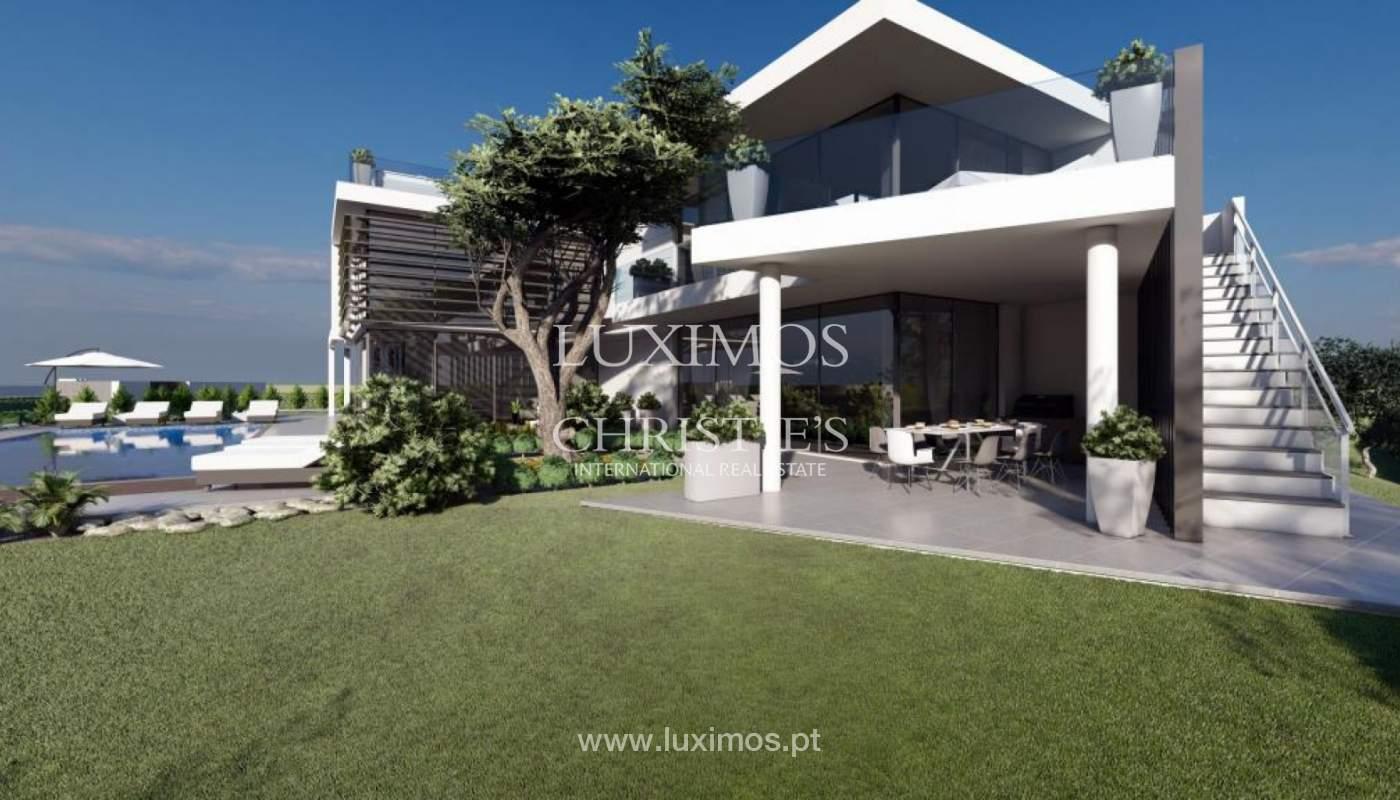 Venda de moradia moderna frente golfe em Vila Sol, Vilmoura, Algarve_139943