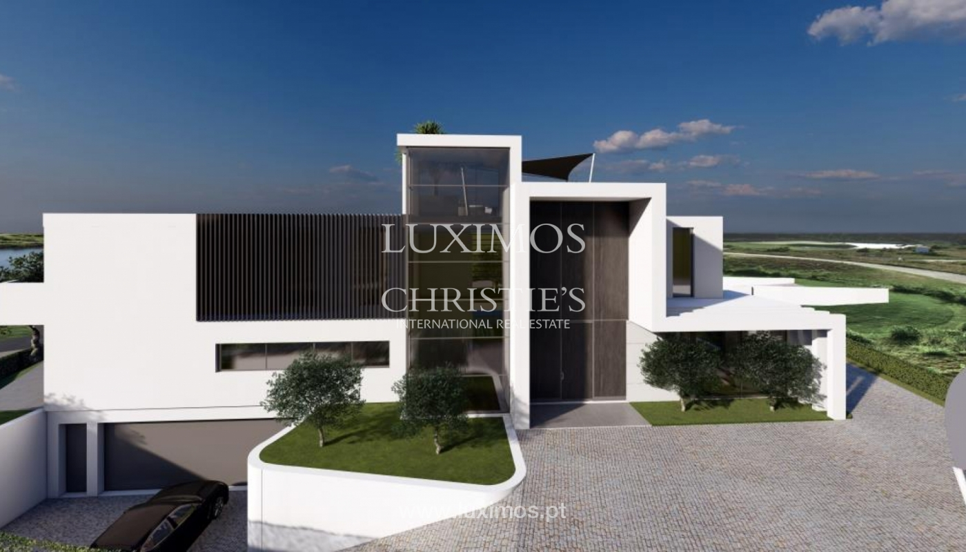 Venda de moradia moderna frente golfe em Vila Sol, Vilmoura, Algarve_139944
