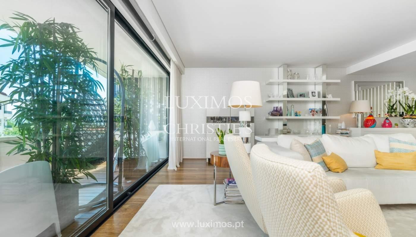 Venta de un apartamento nuevo y contemporáneo, Foz do Douro, Portugal_139966
