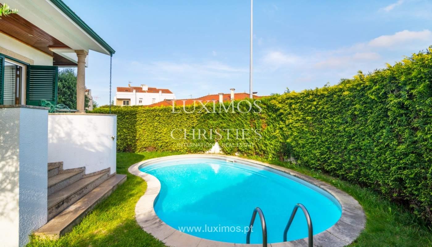 Venta de la villa con jardín y piscina, Maia, Porto, Portugal_140795