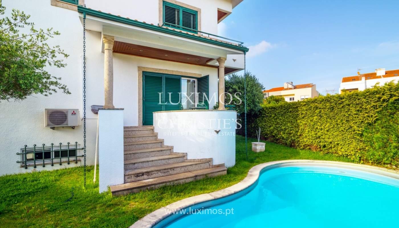 Venta de la villa con jardín y piscina, Maia, Porto, Portugal_140796