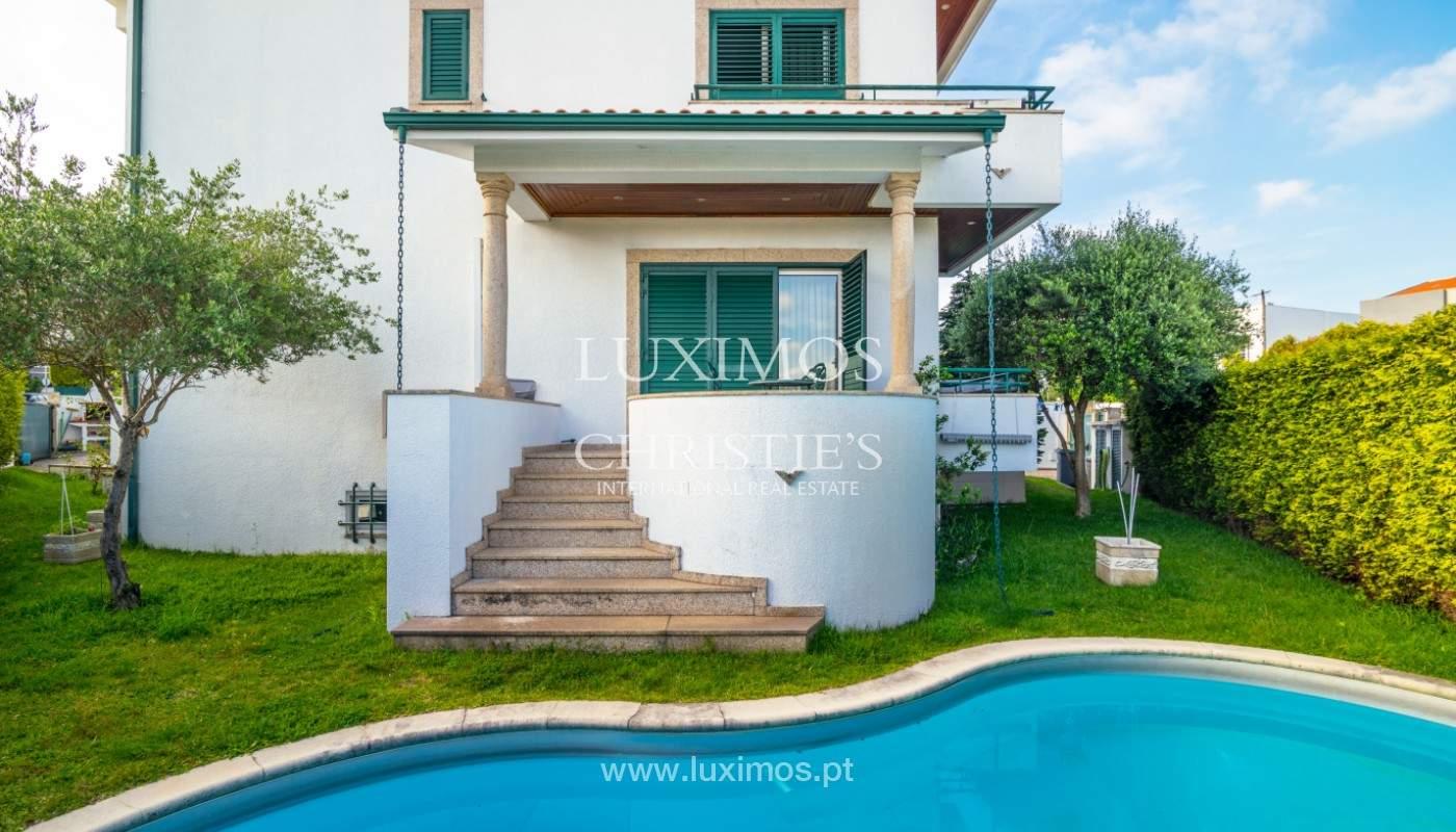 Venta de la villa con jardín y piscina, Maia, Porto, Portugal_140798