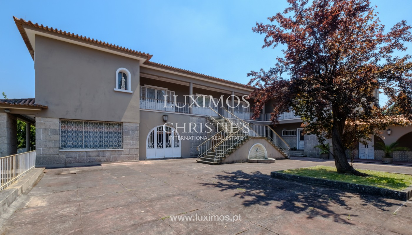 Sale of country house, with gardens and pool, V. N. Famalicão, Portugal_141252