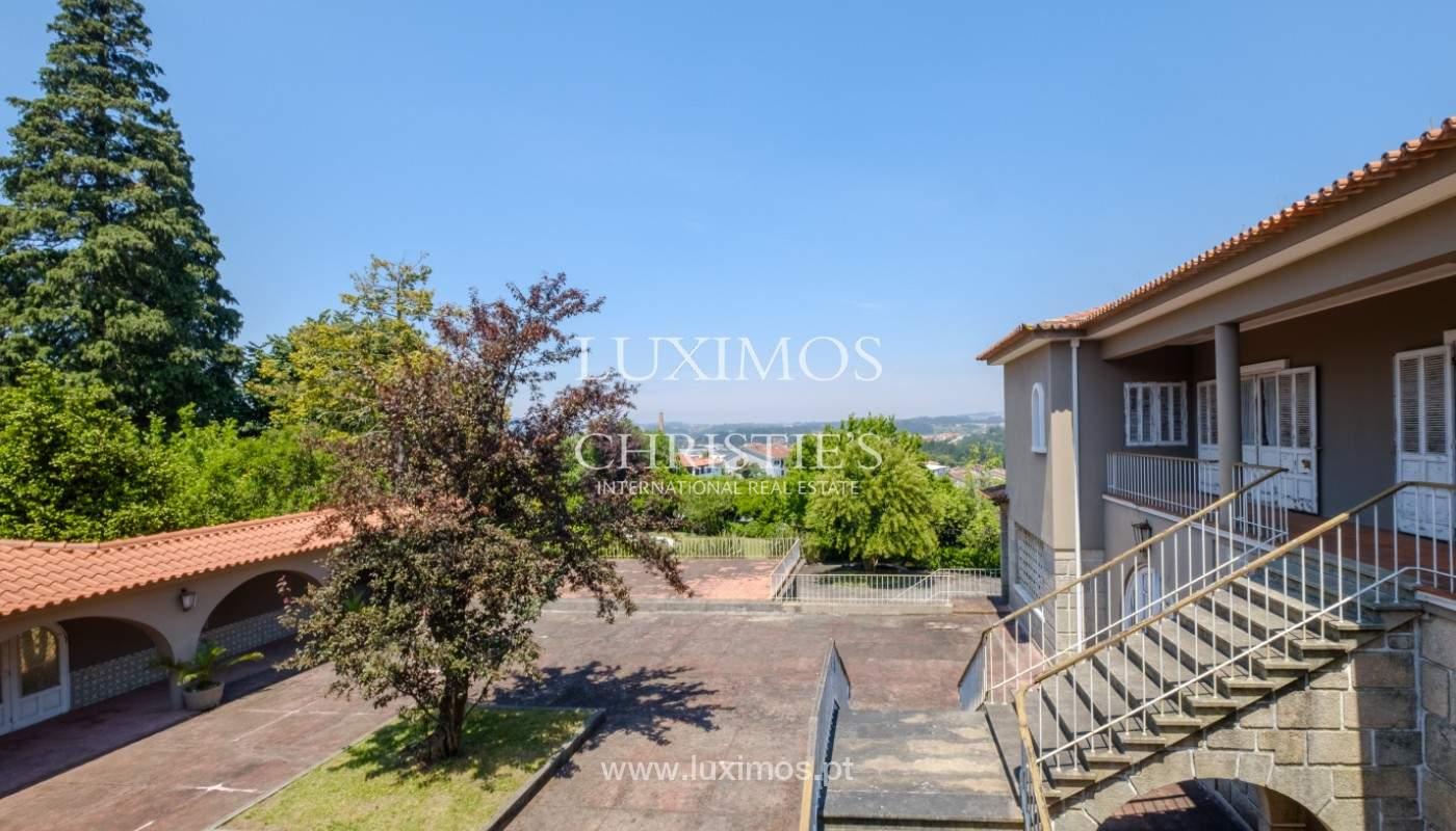 Venta de casa de campo, con jardines y piscina, V. N. Famalicão, Portugal_141256