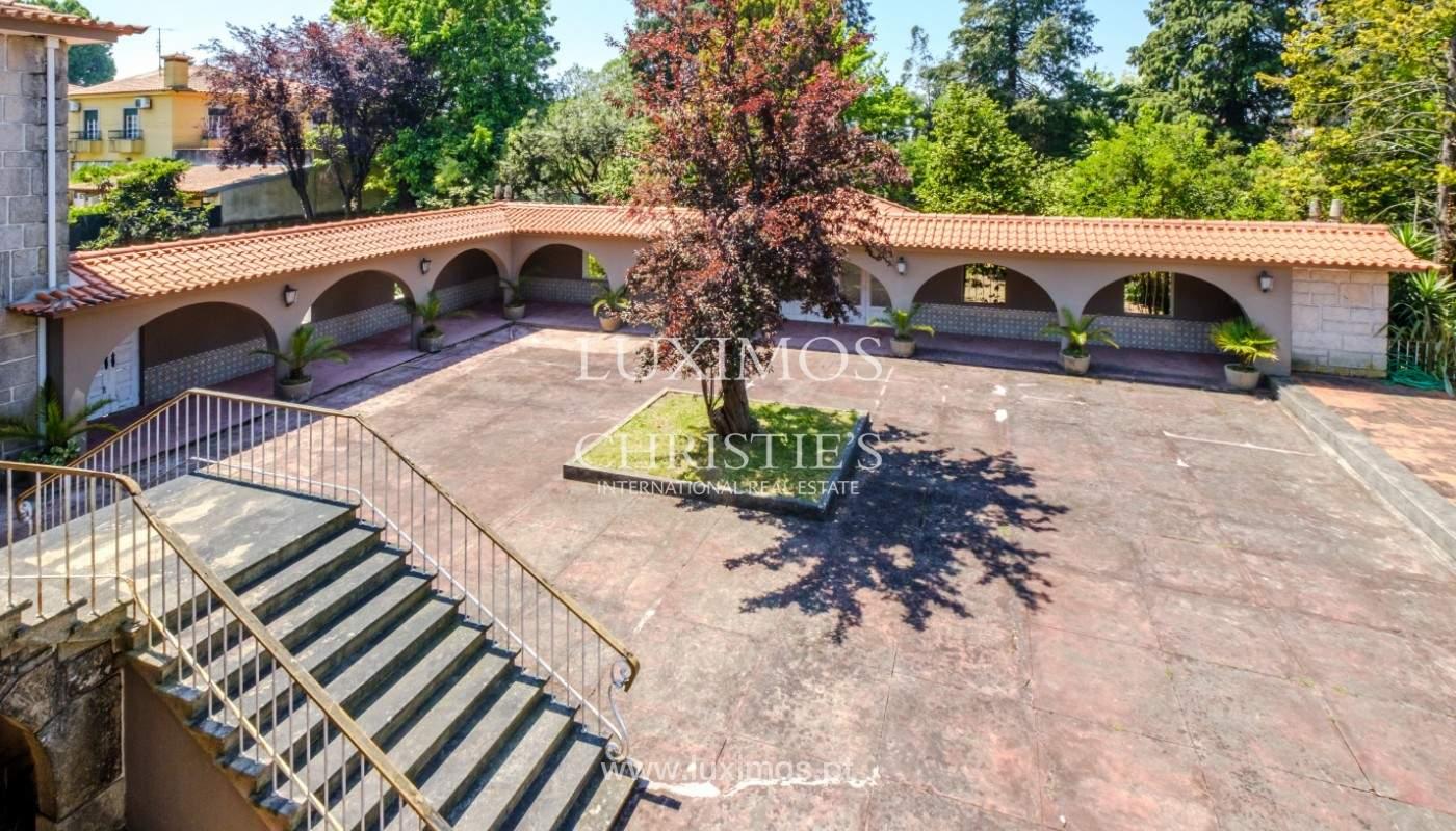 Venta de casa de campo, con jardines y piscina, V. N. Famalicão, Portugal_141258