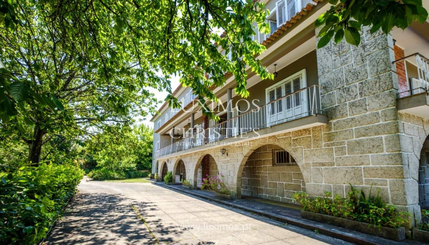 Venta de casa de campo, con jardines y piscina, V. N. Famalicão, Portugal_141272