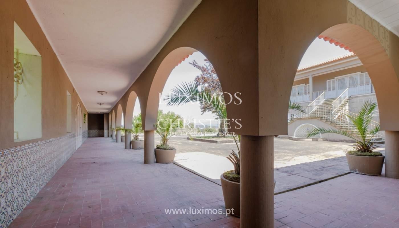 Venta de casa de campo, con jardines y piscina, V. N. Famalicão, Portugal_141326